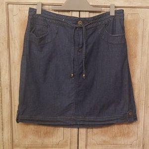CATO Denim Skirt (Sz 18)